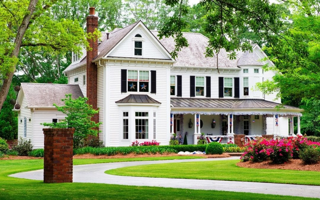 improve curb appeal by maintaining the lawn
